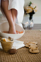 Tratamente naturiste pentru picioare