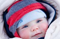 Cum protejam pielea copilului iarna?