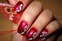 Modele manichiura - picteaza iarna pe unghiile tale