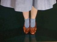 Pantofii lui Dorothy din Vrajitorul din Oz sunt de vanzare