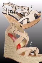Sandale cu platforma pentru vara 2011